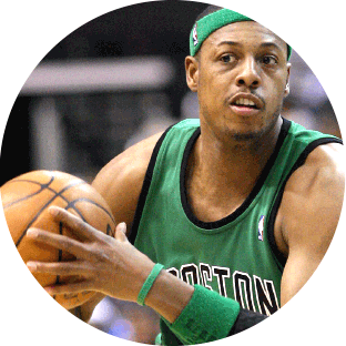 photo of Paul Pierce in Boston Celtics outfit