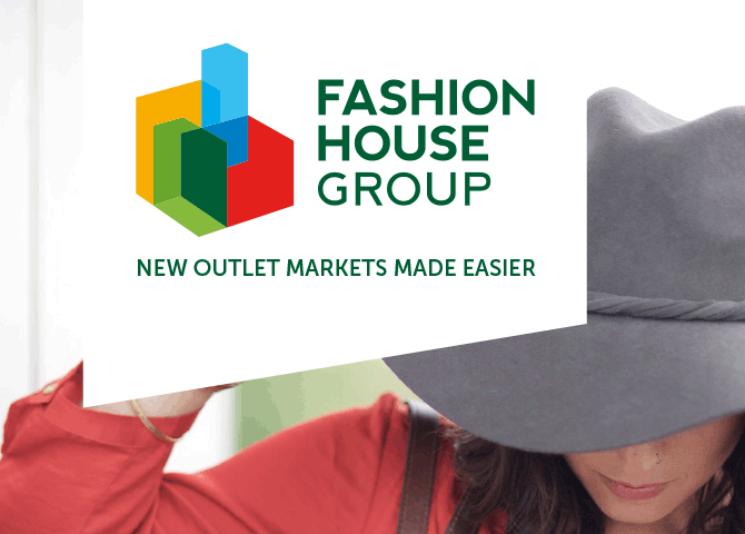 logo design for fashion outlets developer