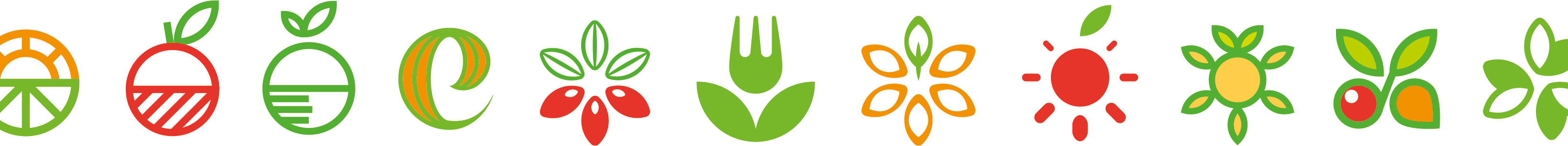 unlimited logo propositions for healthy food brand