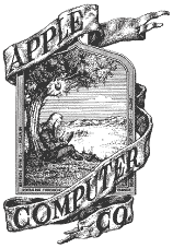 logo apple 1976 rok